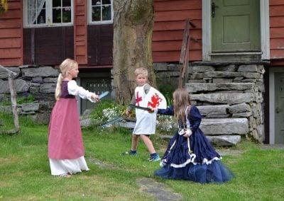 fektende småriddere 1 Fotograf Lene Gjerstad Solhaug